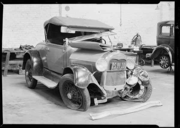 Ford roadster, Southern California, 1931