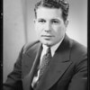 Portrait of John J. Edwards, Southern California, 1935