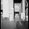 Doorway in Safeway store - 1443 & 1445 4th Street, Santa Monica, CA, 1935