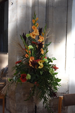 Writtle College Flowers in the Cathedral