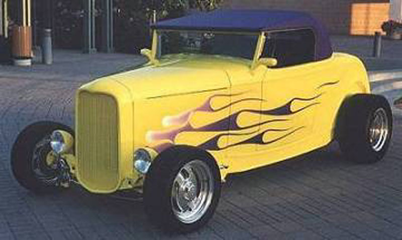 Tom's second project.1932 Ford Roaster  They get better each time. This was amazing!