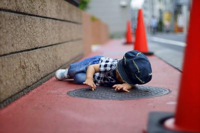 lid of manhole - マンホールのふた