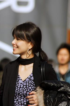 black neck scarf