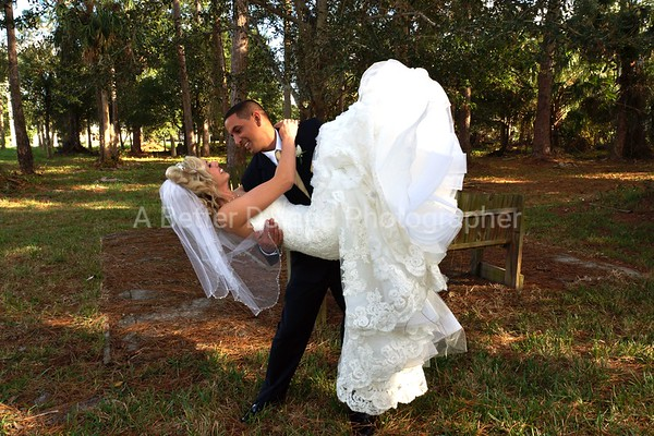 Billy and Carlie wedding Rockledge, Florida
