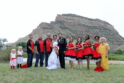 CLINTON-JOANNA wedding DJ-photographer Grand Junction Colorado