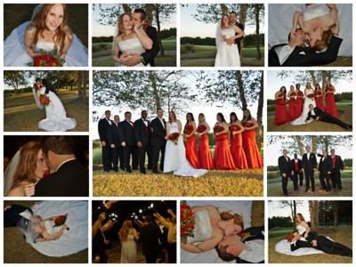 Heath and Danielle 's wedding