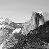 Half Dome with Snow