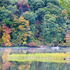 Yellowwood Lake with Boat