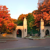 Sample Gates at Indiana University-Bloomington, Indiana