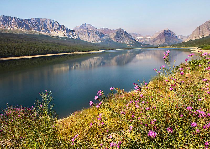 Lake at Glacier National Park