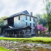 Grist Mill in Spring