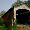 Covered Bridge in Ruins
