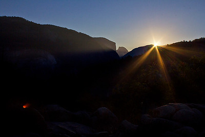 Sunrise at Yosemite
