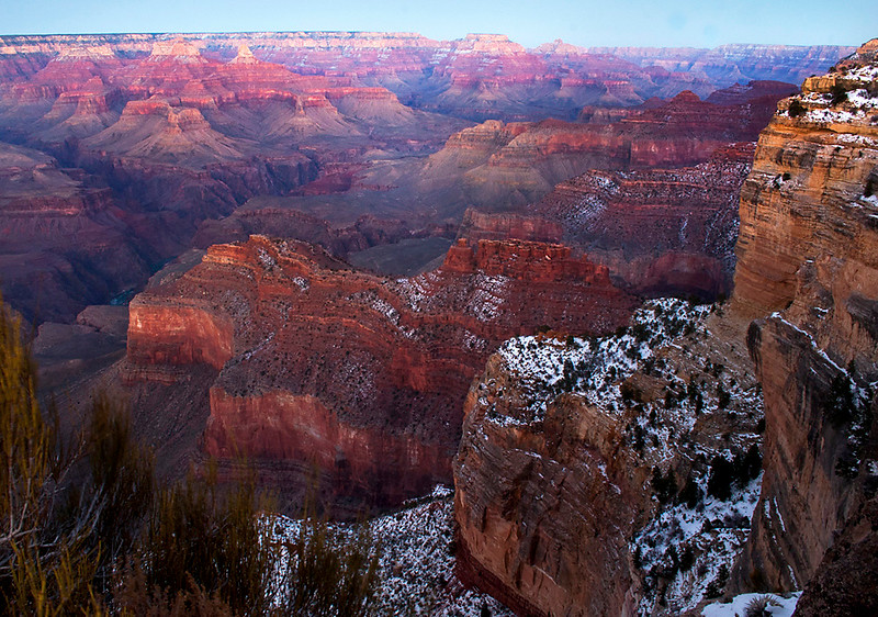 Yaki Point at Sundown