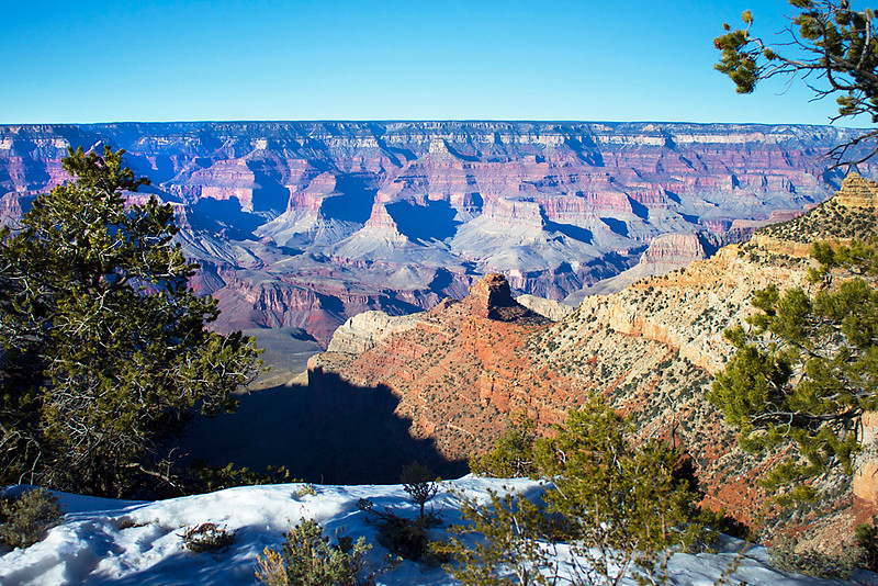 Yaki Point with Snow