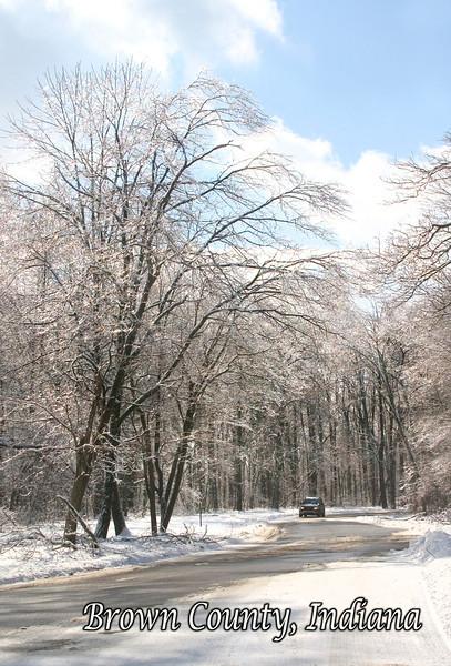BC-501 Snowy Road