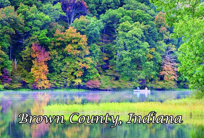 BC-404 Yellowwood Lake in Fall