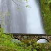 Waterfall with Bridge