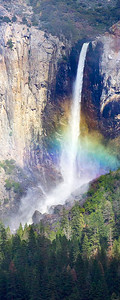 Bridal Veil Falls with Rainbow