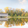 Covered Bridge in Fall