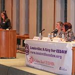 Sariena Sampson, Gretchen Hunt, Marta Miranda and Gabriela Alcalde.