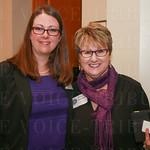 Sariena Sampson and Mary Sue Barnett.