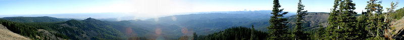 View from Table Mountain - Mount Stuart.  <center>Photo Taken 9-27-2003</center>
