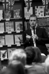Tim Weaver - Vanished, book launch 2012