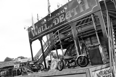 Wall of Death, Carter's Steam Fair