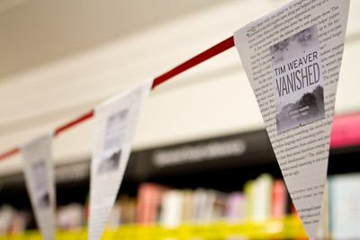 Tim Weaver - Vanished, book launch 2012