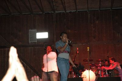 Fantasia Concert Riverfest Wichita Kansas June 04, 2005.