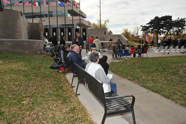 Wichita World War II Memorial Dedicatation