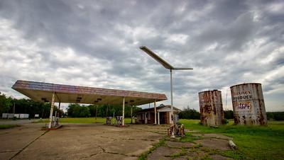 Old Gas Station Chickamauga GA.