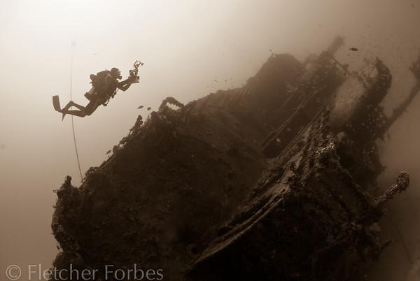 Eagle Wreck with John, Florida Keys