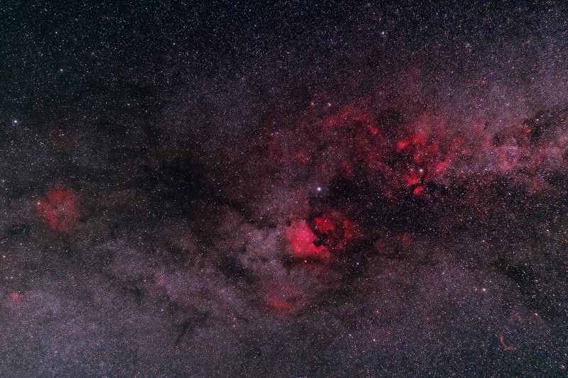 Cygnus and the Milky Way