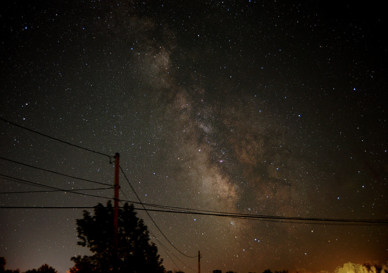 Milky Way from my driveway July 2018