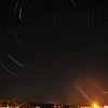 Star Trails over Ogunquit Beach