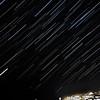 Star Trails over Ogunquit Beach Maine