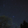 Western Sky and M45 Springville NY Fall 2015