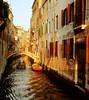 Venetian Canal, Late Sun