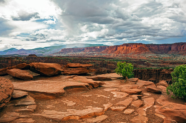 Capitol Reef Rainshower