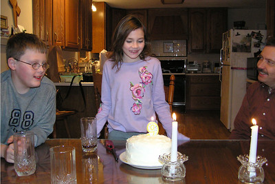 Grace's 9th Birthday - Jan 05