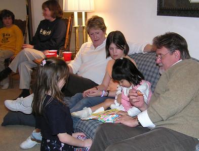 Myida's 4th Birthday, Feb 2004