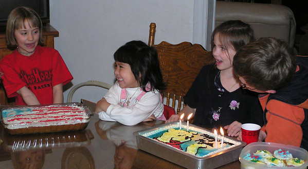 Myida's 4th Birthday, Feb 2004