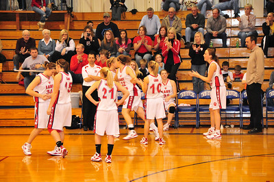 Abbie gets called to the starting lineup.