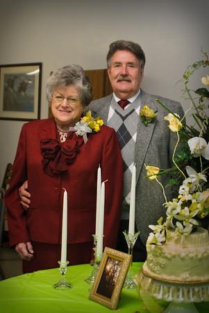 Max & Betty's 50th Wedding Anniversary - Jan 24, 2010