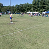 The Fourth annual Whifflin for Wishes was held at McLaughlin Field in Leominster on Saturday, August 24, 2019. This event is was open to people of all ages and skill levels, and 100% of the proceeds (after expenses) went to Make-A-Wish® Massachusetts & Rhode Island to grant wishes to children with life-threatening medical conditions. They have raised in the four years about $13,000. this year had 34 teams with three to five people on each team. This is a view of one of the fields. If you get it past the first line it was a single, the second line was a double, if it hit the wall it was a triple and over the fence was a homerun. SENTINEL & ENTERPRISE/JOHN LOVE