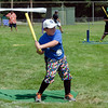 Ben Simons, 8, grabs a hit during the Wifflin' For Wishes tournament at McLaughlin Field in Leominster on Saturday morning.  Proceeds from the event are to be donated to the Make-A-Wish Foundation. SENTINEL & ENTERPRISE / Ashley Green