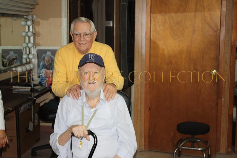 Bill Urban and Bob Kelly