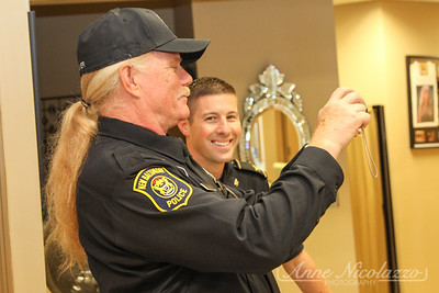 New Baltimore Police Officer donates hair